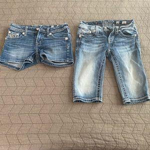 Miss Me Shorts - Girls sz 12